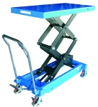 Mesa elevadora manual 1.000 kg, asa desmontable 10157