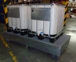Cubeta galvanizada 2 dep�sitos 1.000 lts 3037-GRX