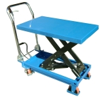 Mesa elevadora manual 500 kg, Asa plegable 10150